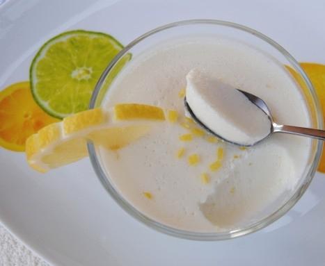 Receta de mousse de limon para dieta dukan