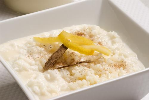 Receta de arroz con leche al microondas