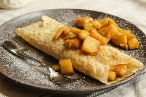 receta crepes normanda