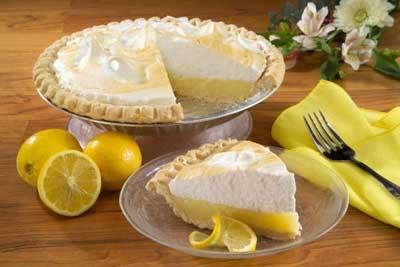 Receta de lemon pie sin azúcar
