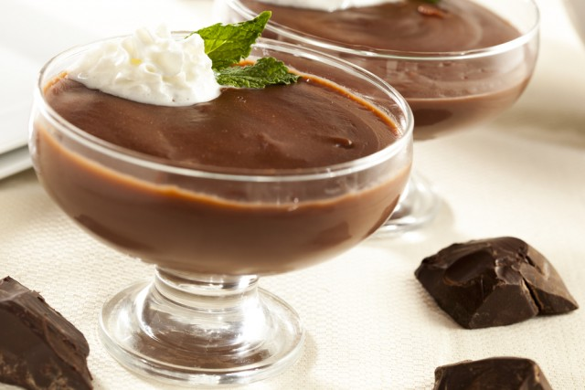 Receta de natillas caseras con chocolate