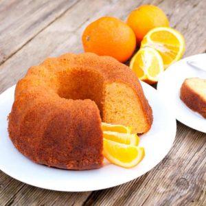 receta de bizcocho de avena y naranja