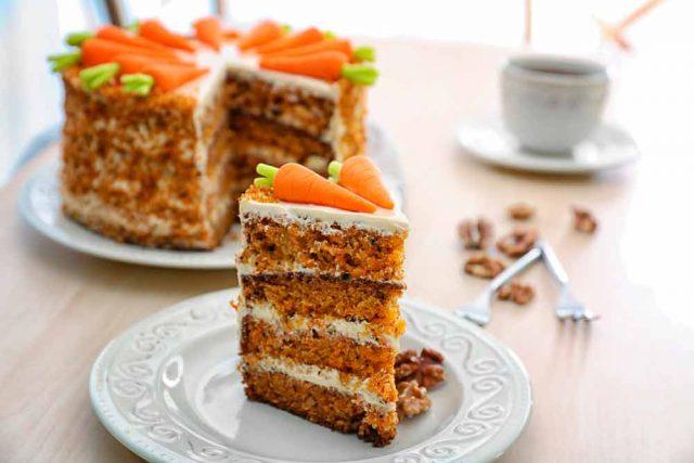 Receta de bizcocho de avena y zanahoria