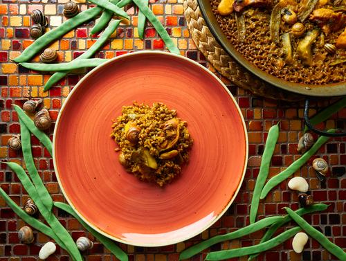Receta de arroz con conejo y caracoles