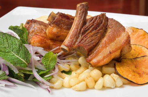 Receta de chicharrón de cerdo boliviano