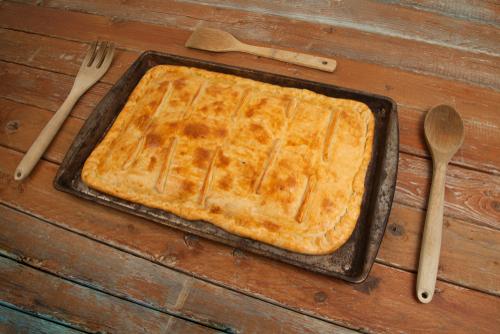 Receta de empanada gallega de pulpo