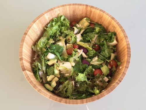 Receta de ensalada de aguacate y palmito