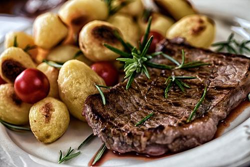 Receta de entrecot al horno con patatas
