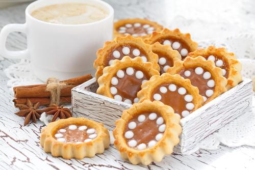 Receta de galletas decoradas con caramelo