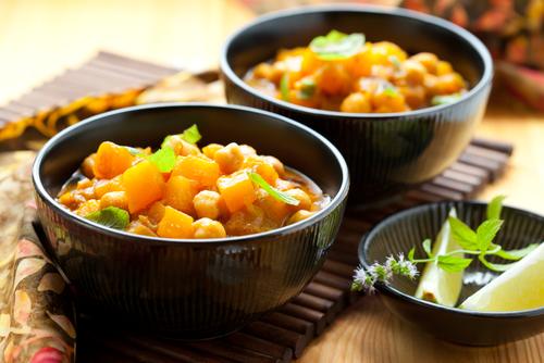 Receta de garbanzos estofados con verduras