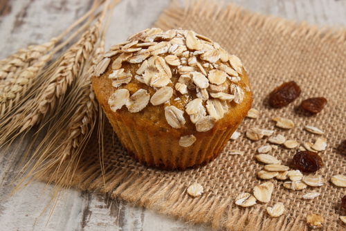 Receta de muffins de avena