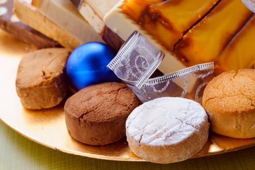 Receta de polvorones de chocolate