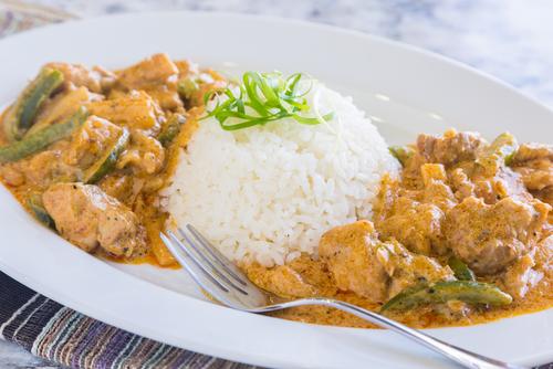 Receta de salsa curry con mango
