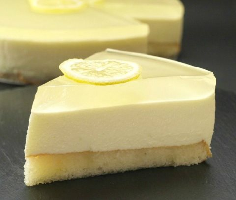 Receta de tarta de mousse de limon