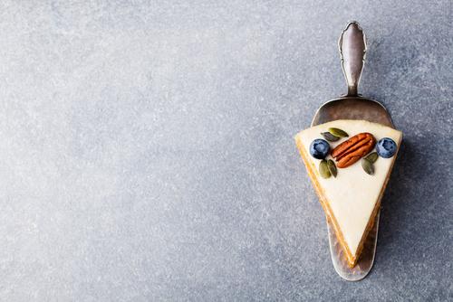 Receta de tarta de nueces y queso