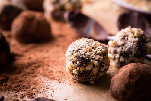 Receta de trufas de chocolate con galleta María