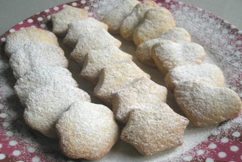 Receta de galletas de mantequilla con miel
