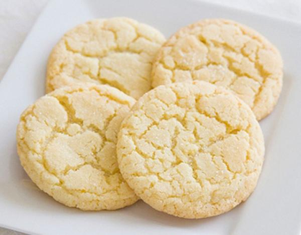 Receta de galletas de mantequilla light