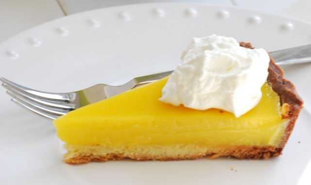 Receta de lemon pie clásico