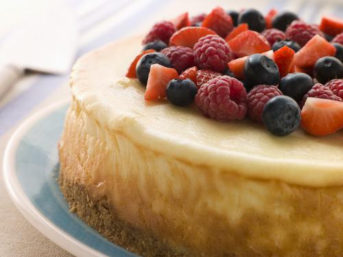 Receta de tarta de queso americana