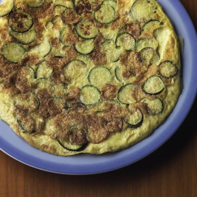 Receta de tortilla de patatas con calabacín