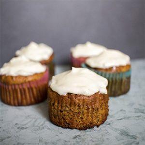 receta cupcakes carrot cake