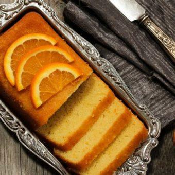 receta bizcocho de naranja sin huevo