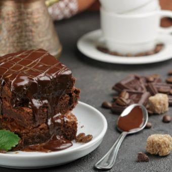 receta original brownie americano