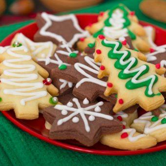 galletas navideñas decoradas cookies