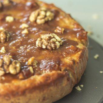 receta tarta de nueces asturiana