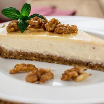 receta de tarta de nueces y leche condensada