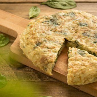 receta tortilla de bacalao de sidreria